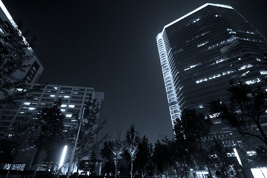 b&w nights in beijing by Watzmann71