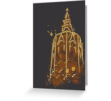 Miguelete at night Greeting Card