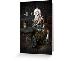 Dragon Lady Greeting Card