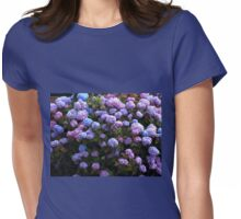 Beautiful Hydrangea Blossoms Womens Fitted T-Shirt