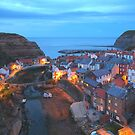 """Picture Postcard """"Staithes"""" by Paul Bettison"""