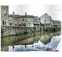 Cottages Canalside . Poster