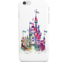 Princess Castle Watercolor iPhone Case/Skin