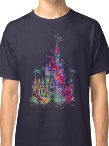 Princess Castle Watercolor Classic T-Shirt