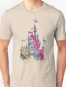 Princess Castle Watercolor Unisex T-Shirt