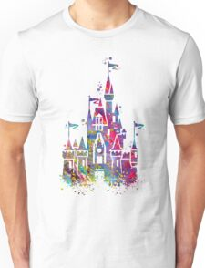 Princess Castle Watercolor Unisex T-Shirt
