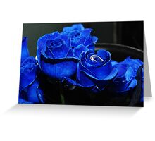 call me BLUE Greeting Card