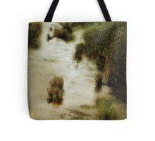 Flood Tide in the Salt Marsh Tote Bag