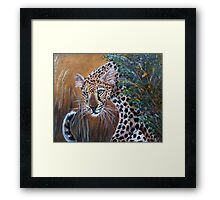 the hunter Framed Print