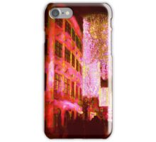 Christmas Lights In Historic Vienna iPhone Case/Skin