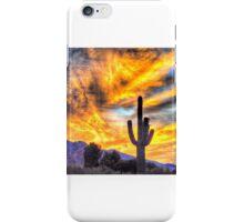 A Saturday Morning Sunrise, Tucson Arizona iPhone Case/Skin