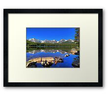 Bierstadt Lake in Rocky Mountain National Park Framed Print