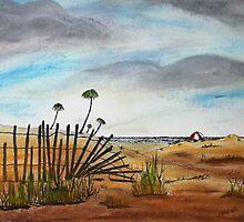 Beach Path 150716 by Jack G Brauer