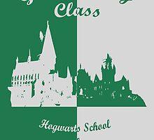 Hogwarts Graduating - Slytherin by husavendaczek