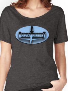 Dangertainment T-Shirt No. 2 Women's Relaxed Fit T-Shirt