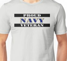 Proud Navy Veteran Unisex T-Shirt