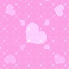 Pink with Pink hearts by Christy Leigh