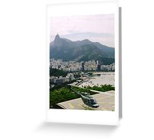 Take off round paradise Greeting Card