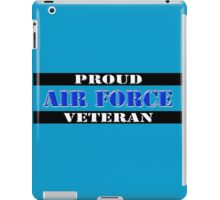 Proud Air Force Veteran iPad Case/Skin