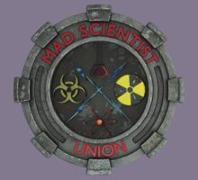 Mad Scientist Union Logo 3D