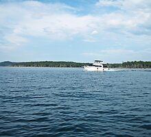 Boating on the Lake by KaylaKarma