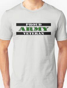 Proud Army Veteran Unisex T-Shirt