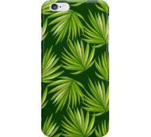 Tropical branches iPhone Case/Skin