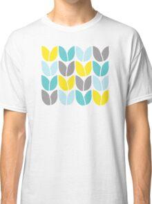 Tulip Knit (Aqua Gray Yellow) Classic T-Shirt