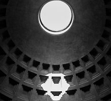 Pantheon Rome Italy by Edward Fielding