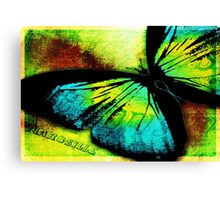 Butterfly Hard Journal Cover Canvas Print