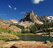 Lake Blanche, Vertorama by Ryan Houston