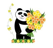 With Love Panda by Louise Parton