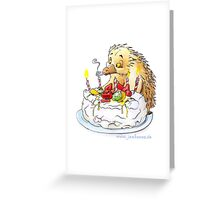 Birthday Pavlova Greeting Card