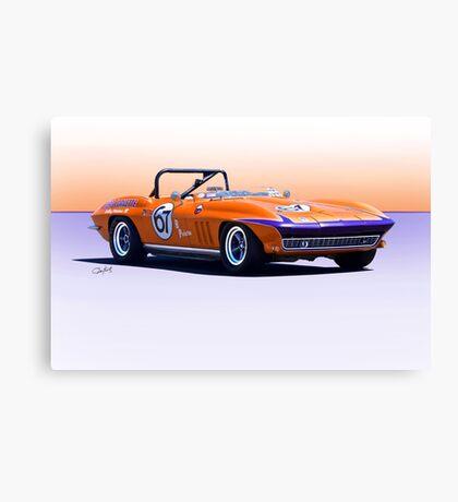 1965 Chevrolet Corvette Production GT Canvas Print