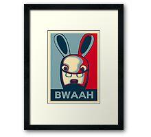 BWAAH!! Framed Print