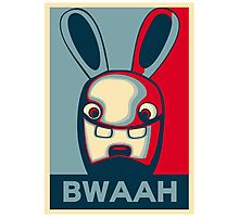 BWAAH!! Photographic Print