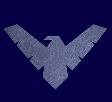 Nightwing Logo 06 by miss0aer