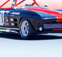 1964 Corvette Convertible Production GT Sticker