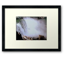 The Mist of the Falls     ^ Framed Print