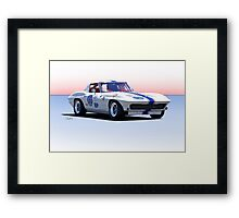 1963 Corvette Stingray Production GT Framed Print