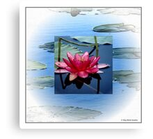 """Waterlily"" Canvas Print"