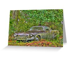 Dying Volvo HDR Greeting Card