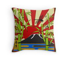 JAPAN - LOVE, LIFE, REBIRTH Throw Pillow