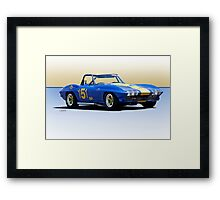 1963 Corvette Production GT Framed Print
