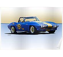 1963 Corvette Production GT Poster