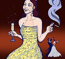 Lynsye's Big Night Out by Joozu