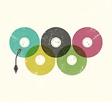Olympic Records by Jorge Lopez