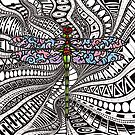 The Intricacies of Ink - Dragonfly by Tristan Bristow