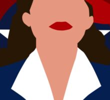 Agent Carter - Another One Bites the Dust Sticker