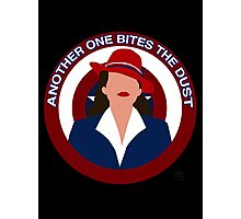 Agent Carter - Another One Bites the Dust Photographic Print